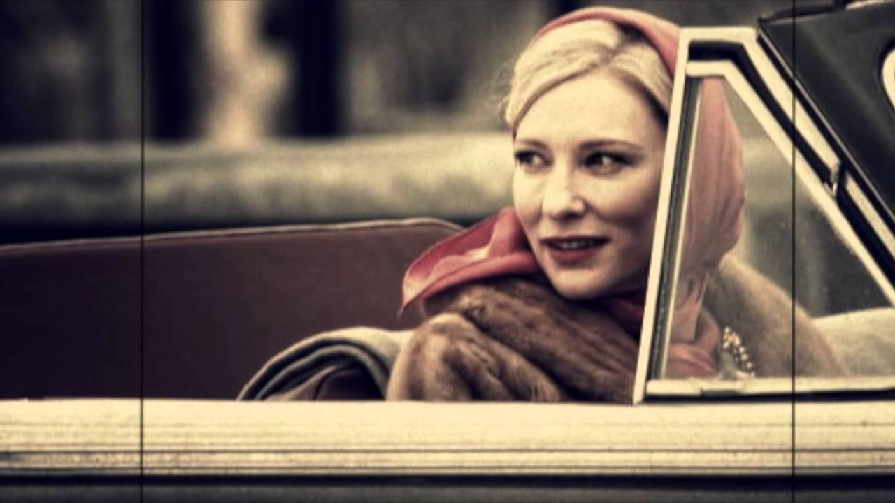 Cate Blanchett Carol in car