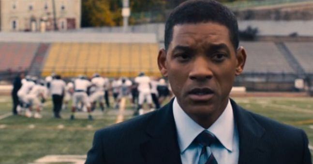 Will Smith Concussion  field