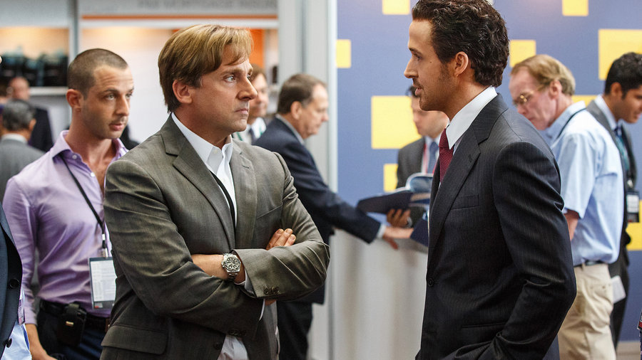 the big short Steve Carel Ryan Gossling