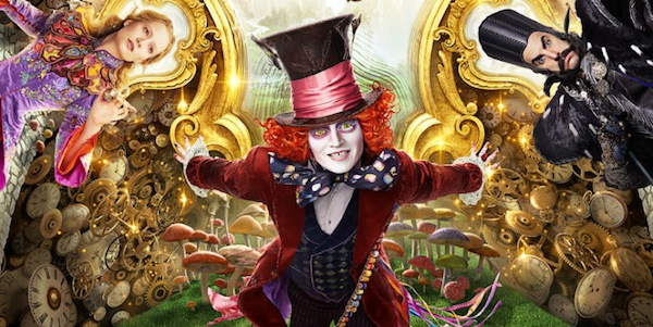 johnny depp, alice through the looking glass