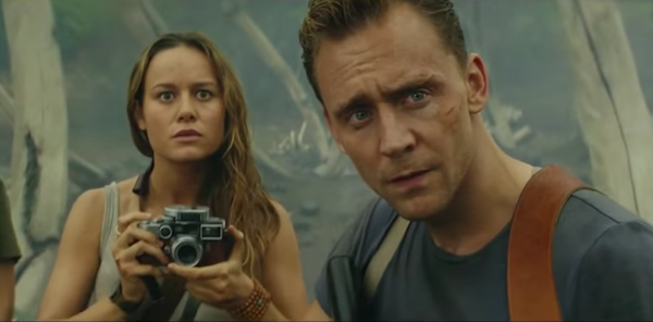 kong skull tom hiddleston, brie larson