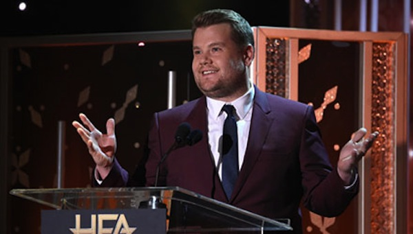 james Corden at HFAs