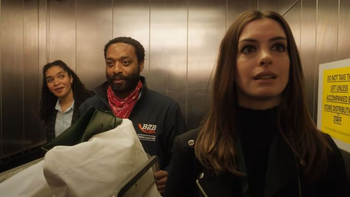 """Trailer Drops For """"Locked Down"""" With Chiwetel Ejiofor And Anne Hathaway"""